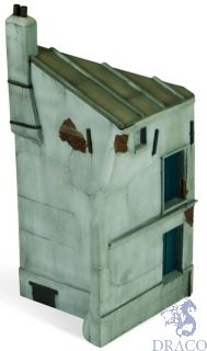 Vallejo Diorama Bases 112: French House Corner 25x11 cm 1/35