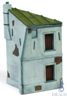 Vallejo Diorama Bases 117: French House Corner 12,5x7 cm 1/72