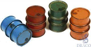 Vallejo Diorama Accessories 203: Civilian Fuel Drums (4 pcs.) 1/35