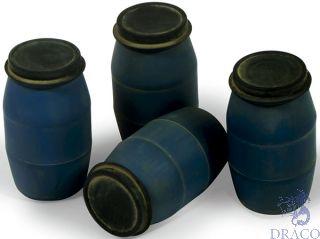 Vallejo Diorama Accessories 210: Modern Plastic Drums #1 (4 pcs.) 1/35