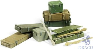 Vallejo Diorama Accessories 222: Panzerfaust 60 M set (11 pcs.) 1/35