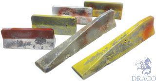 Vallejo Diorama Accessories 228: Urban Concrete Barriers (6 pcs.) 1/35