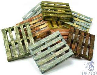Vallejo Diorama Accessories 233: Wooden Pallets (4 pcs.) 1/35