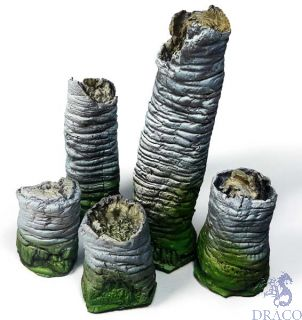 Vallejo Diorama Accessories 301: Broken Palm Trunks (5 pcs.) 1/35