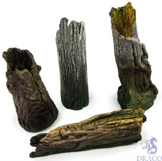 Vallejo Diorama Accessories 303: Large Tree Stumps (4 pcs.) 1/35