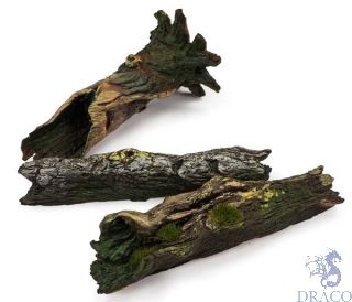 Vallejo Diorama Accessories 304: Fallen Logs (3 pcs.) 1/35