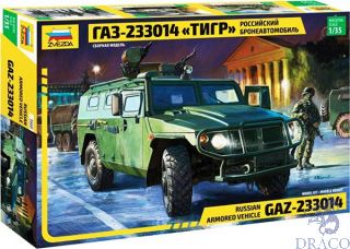 "GAZ-233014 ""Tiger"" Russian Armored Vehicle 1/35 [Zvezda]"