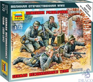 German Reconnaissance Team 1939-1942 1/72 [Zvezda]
