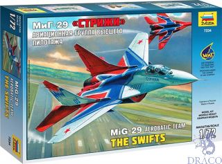 Acrobatic Team The Swifts MiG-29 1/72 [Zvezda]