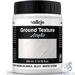 Vallejo Diorama Effects 211: White Stone Paste 200 ml.