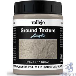 Vallejo Diorama Effects 213: Rough Grey Coarse Pumice 200 ml.