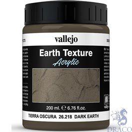 Vallejo Diorama Effects 218: Dark Earth 200 ml.
