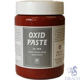 Vallejo Diorama Effects 589: Red Oxid Paste 200 ml.