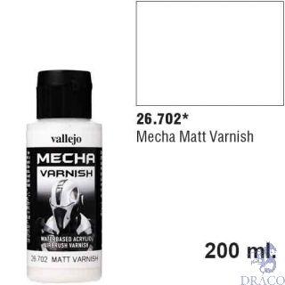Vallejo Mecha Varnish 702: Matt Varnish 60 ml.