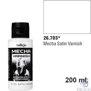 Vallejo Mecha Varnish 703: Satin Varnish 60 ml.