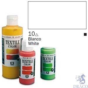 Vallejo Textile Color 010: White 60 ml.