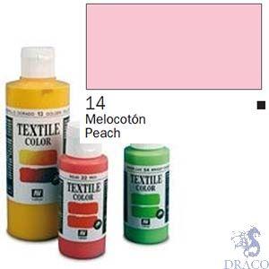 Vallejo Textile Color 014: Peach 60 ml.