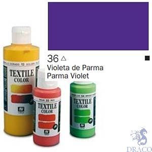 Vallejo Textile Color 036: Parma Violet 60 ml.