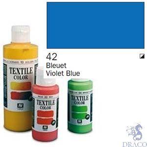 Vallejo Textile Color 042: Marine Blue 60 ml.