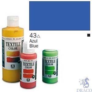 Vallejo Textile Color 043: Ultramarine Blue 60 ml.