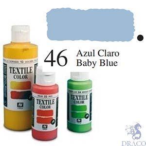 Vallejo Textile Color 046: Baby Blue 60 ml.