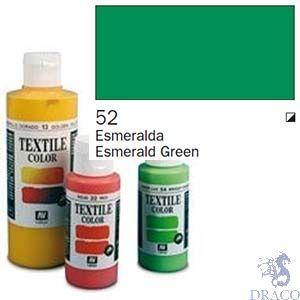 Vallejo Textile Color 052: Emerald Green 60 ml.