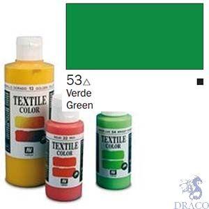 Vallejo Textile Color 053: Green 60 ml.