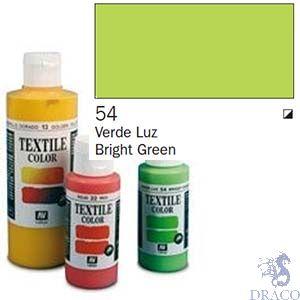 Vallejo Textile Color 054: Bright Green 60 ml.