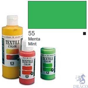 Vallejo Textile Color 055: Minth 60 ml.