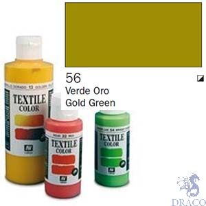 Vallejo Textile Color 056: Gold Green 60 ml.