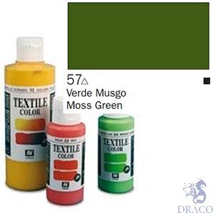 Vallejo Textile Color 057: Moss Green 60 ml.