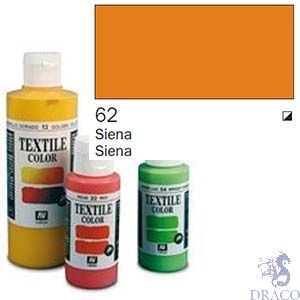 Vallejo Textile Color 062: Sienna 60 ml.