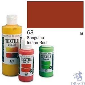 Vallejo Textile Color 063: Terracota 60 ml.