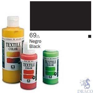 Vallejo Textile Color 069: Black 60 ml.