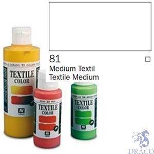 Vallejo Textile Color 081: Textile Medium 60 ml.