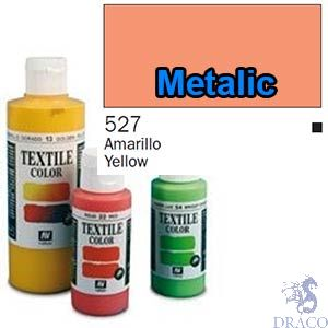 Vallejo Textile Color 527: Metalic Rose 60 ml.