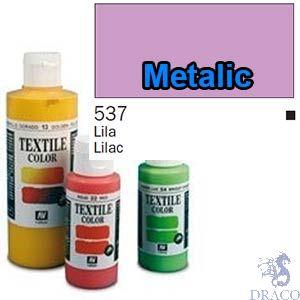 Vallejo Textile Color 537: Metalic Lilac 60 ml.
