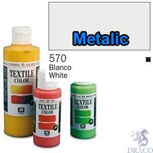 Vallejo Textile Color 570: Metalic Iridiscent 60 ml.