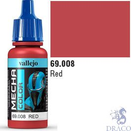 Vallejo Mecha Color 008: Red 17 ml.