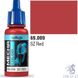 Vallejo Mecha Color 009: SZ Red 17 ml.