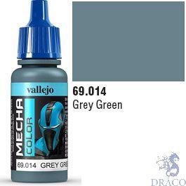 Vallejo Mecha Color 014: Grey Green 17 ml.