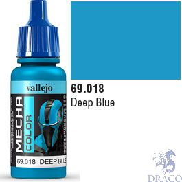 Vallejo Mecha Color 018: Deep Blue 17 ml.