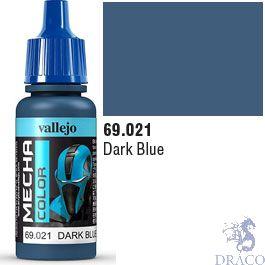 Vallejo Mecha Color 021: Dark Blue 17 ml.