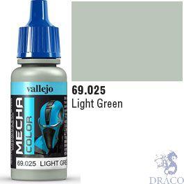 Vallejo Mecha Color 025: Light Green 17 ml.