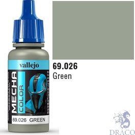 Vallejo Mecha Color 026: Green 17 ml.