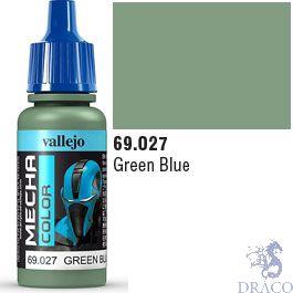 Vallejo Mecha Color 027: Green Blue 17 ml.