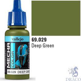 Vallejo Mecha Color 029: Deep Green 17 ml.