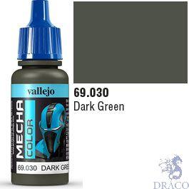 Vallejo Mecha Color 030: Dark Green 17 ml.