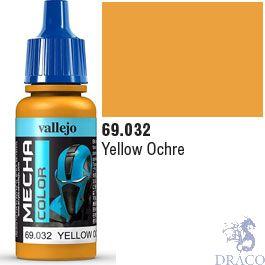 Vallejo Mecha Color 032: Yellow Ochre 17 ml.
