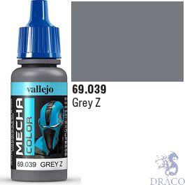 Vallejo Mecha Color 039: Grey Z 17 ml.
